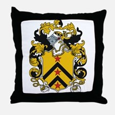 Paxton Coat of Arms Throw Pillow