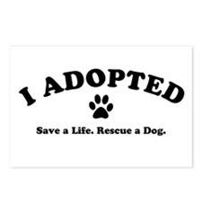 I Adopted Postcards (Package of 8)