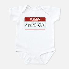 Hello Killing Infant Bodysuit