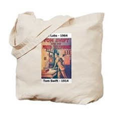 Tom Swift vs. Bell Labs Photo Telephone Tote Bag