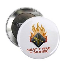 """Grill Master 2.25"""" Button (100 pack)"""
