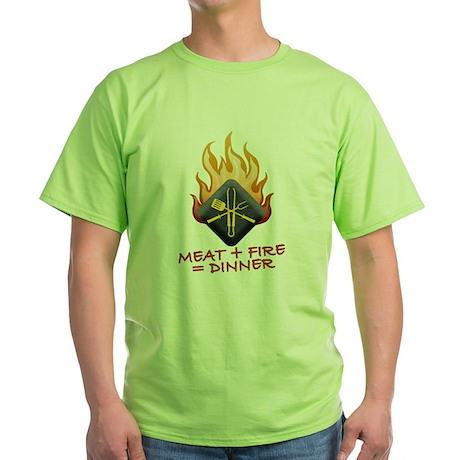 Grill Master Green T-Shirt