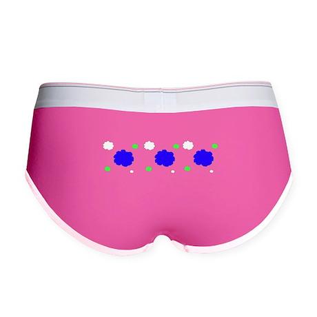Spring Fleurs Women's Boy Briefs Underwear