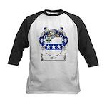 Weir Coat of Arms Kids Baseball Jersey