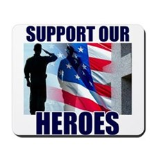 Support Our Heros Mousepad