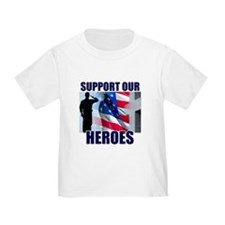 Support Our Heros T