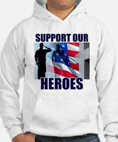 Support Our Heros Hoodie