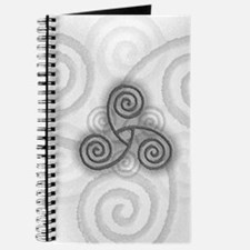 Celtic Triple Spiral Journal