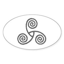 Celtic Triple Spiral Decal