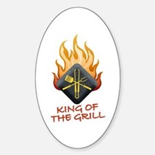 Grill Master Sticker (Oval)