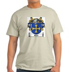 Ward Family Crest Ash Grey T-Shirt