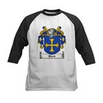 Ward Family Crest Kids Baseball Jersey