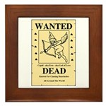 Wanted Cupid Framed Tile
