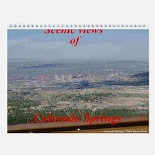 Colorado Springs Wall Calendar