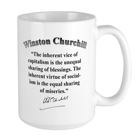 Winston Churchill 01 Large Mug