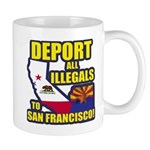 Deport them to San Francisco Mug