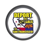 Deport them to San Francisco Wall Clock