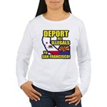 Deport them to San Francisco Women's Long Sleeve T