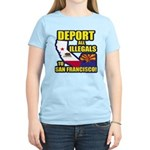Deport them to San Francisco Women's Light T-Shirt