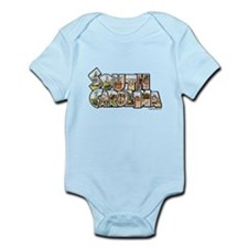 Vintage South Carolina Infant Bodysuit
