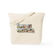 Vintage South Carolina Tote Bag