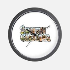 Vintage South Carolina Wall Clock