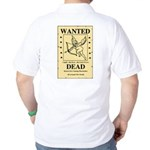 Wanted Cupid Golf Shirt