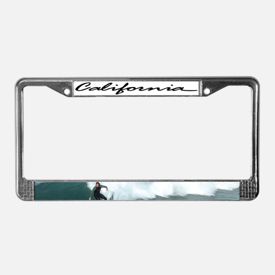 CA License Plate Frame