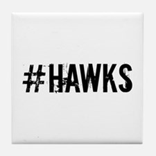 #HAWKS Tile Coaster
