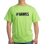 #HAWKS Green T-Shirt