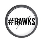 #HAWKS Wall Clock