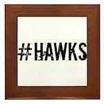 #HAWKS Framed Tile