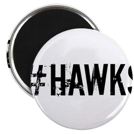 "#HAWKS 2.25"" Magnet (10 pack)"