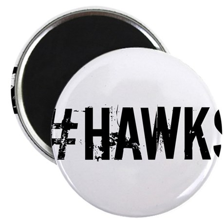 "#HAWKS 2.25"" Magnet (100 pack)"