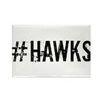 #HAWKS Rectangle Magnet (100 pack)
