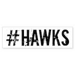 #HAWKS Sticker (Bumper 10 pk)