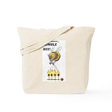 Rumble Bee Tote Bag