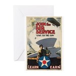 Give 'er the Gun Greeting Cards (Pk of 10)