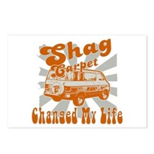 SHAG CARPET CHANGED MY LIFE Postcards (Package of