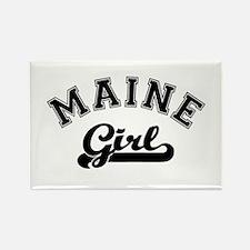 Maine Girl Rectangle Magnet
