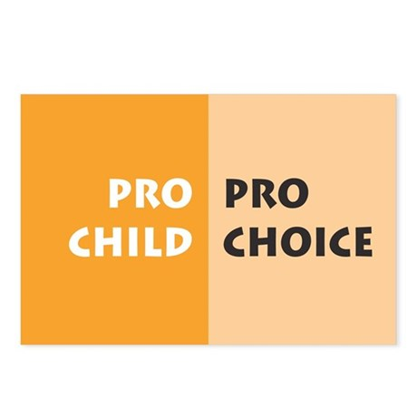 Pro Choice Postcards (Package of 8)