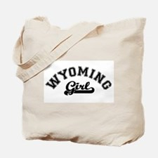 Wyoming Girl Tote Bag