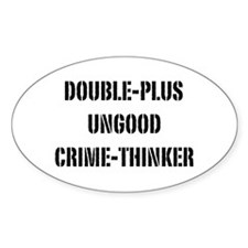 Crimethink Decal