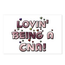 Loving Being A CNA Lovin' hea Postcards (Package o
