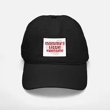 Mommy's Little Valentine Baseball Hat