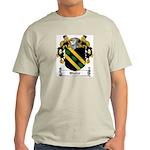 Waller Family Crest Ash Grey T-Shirt