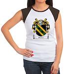 Waller Family Crest Women's Cap Sleeve T-Shirt