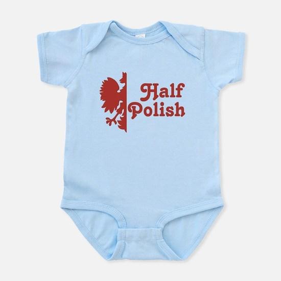 Half Polish Infant Bodysuit