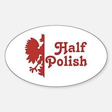 Half Polish Sticker (Oval)