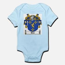 Wall Family Crest Infant Creeper